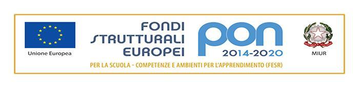 Progetti PON 2014 - 2020